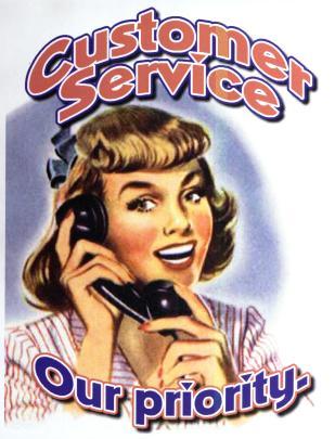 Old School Customer Service